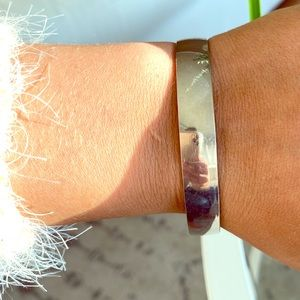 "KATE SPADE ""Look For The Silver Lining"" Bangle"